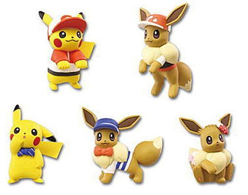 Pokemon Let's Go! Pikachu/Eevee Adventure Mascot - Blind Box