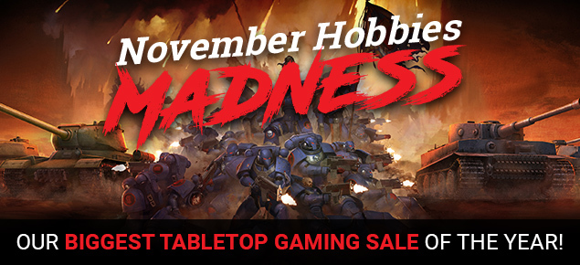 November Hobbies Madness!