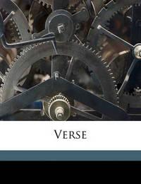Verse by Elizabeth Gerberding