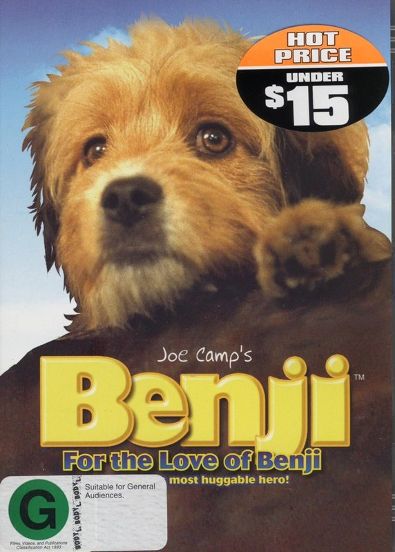 Benji - For The Love Of Benji on DVD