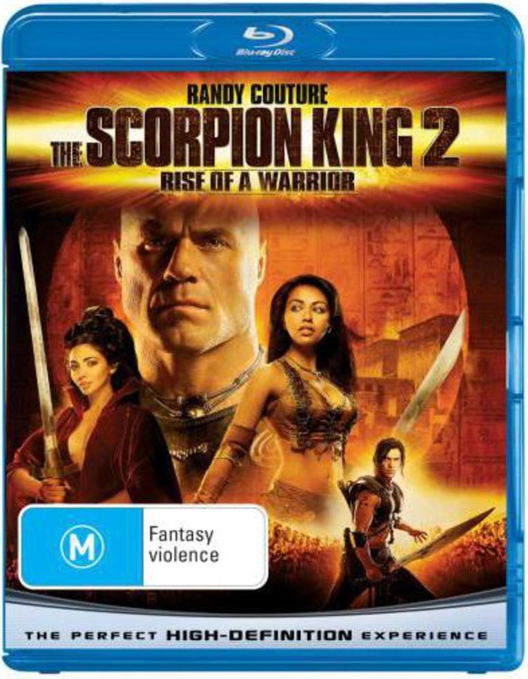 The Scorpion King 2 - Rise of A Warrior on Blu-ray image