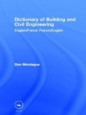 Dictionary of Building and Civil Engineering by Don Montague image
