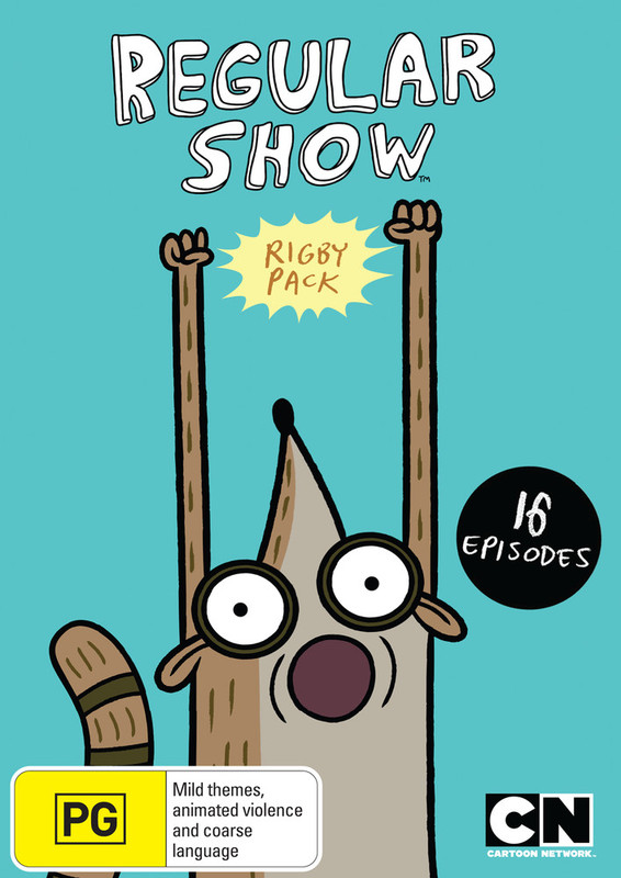 Regular Show Rigby Pack on DVD