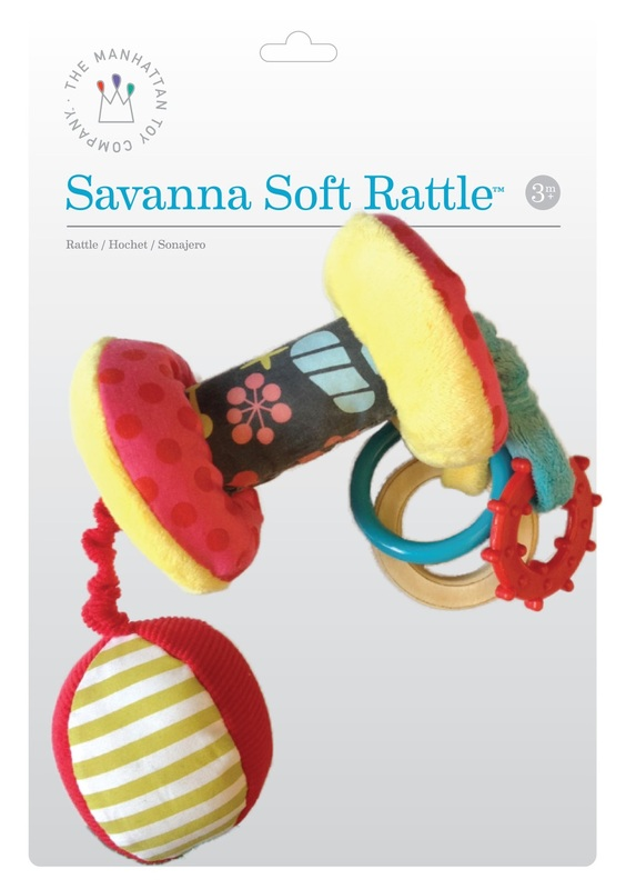 Manhattan: Savanna Soft Rattle
