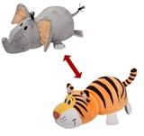 Flip A Zoo: Elephant & Tiger - 40cm