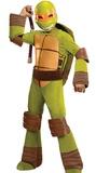 TMNT: Michelangelo Deluxe Costume - (Size 6-8)