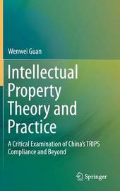 Intellectual Property Theory and Practice by Wenwei Guan