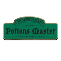 Harry Potter Potions Master Badge