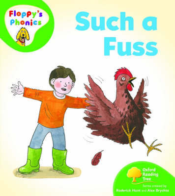 Oxford Reading Tree: Level 2: Floppy's Phonics: Such a Fuss by Rod Hunt image