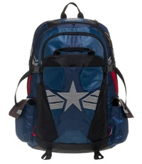 "Captain America Suit Inspired - 19.5"" Backpack"