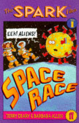 Spark Files 1: Space Race by Terry Deary image