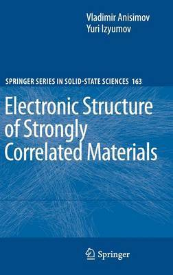 Electronic Structure of Strongly Correlated Materials by Vladimir Anisimov image