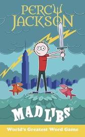 Percy Jackson Mad Libs by Leigh Olsen image