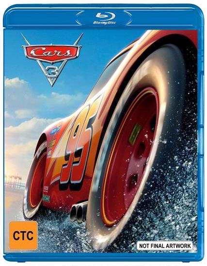 Cars 3 on Blu-ray image