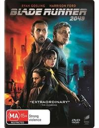 Blade Runner 2049 on DVD image