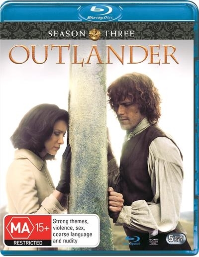 Outlander: The Complete Third Season on Blu-ray image