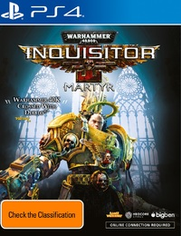 Warhammer 40,000: Inquisitor Martyr for PS4