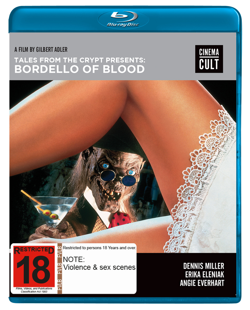 Tales From the Crypt Presents Bordello of Blood on Blu-ray image