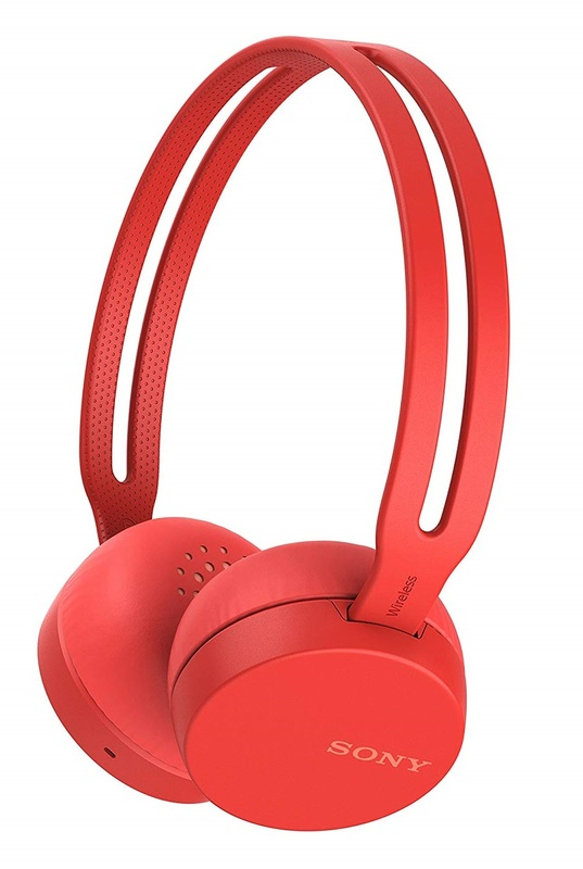Sony: WHCH400R - Entry Bluetooth Headphones (Red)