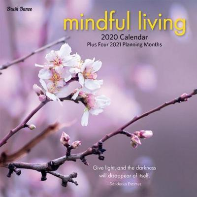 Mindful Living 2020 Mini Wall Brush Dance Calendar