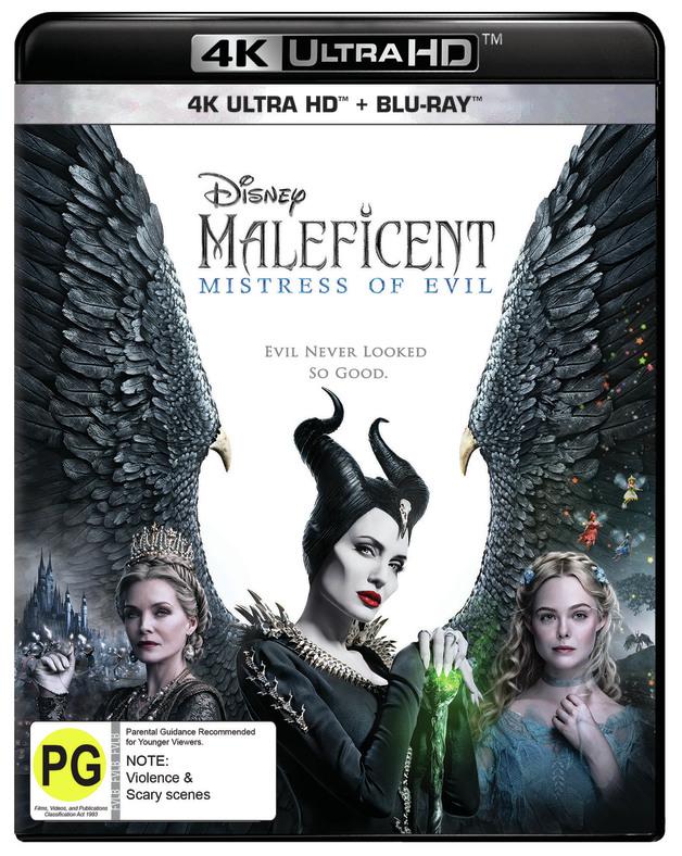 Maleficent: Mistress of Evil (4K UHD) on UHD Blu-ray