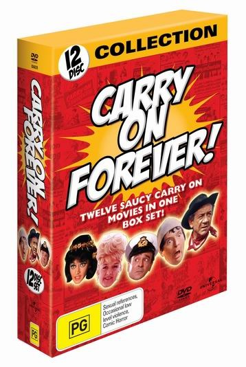 Carry On Forever! (12 Disc Box Set) on DVD