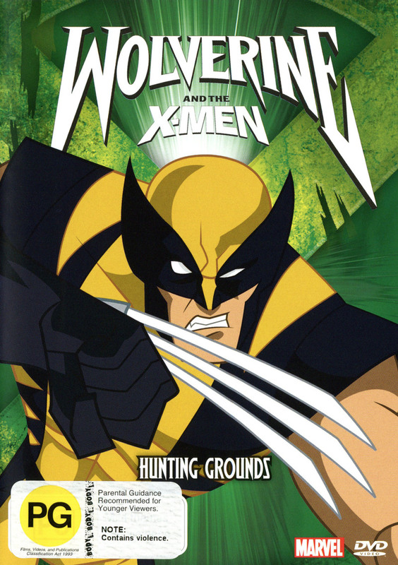 Wolverine and the X-Men: Vol. 3 - Hunting Grounds on DVD