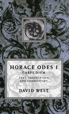 Horace: Odes I: Carpe Diem by Horace image
