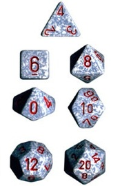 Chessex - Polyhedral Dice Set - Air Speckled image