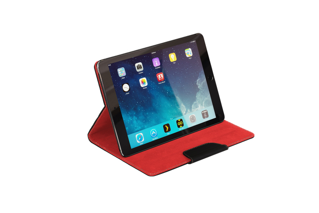 """NVS Folio Stand for iPad Pro 9.7"""" (Black/Red)"""