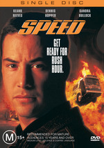 Speed - Single Disc on DVD