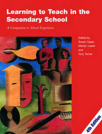 Learning to Teach in the Secondary School by Susan Capel image