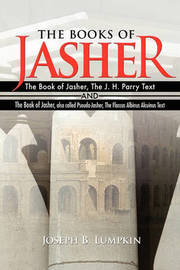 The Books of Jasher by Joseph B Lumpkin image