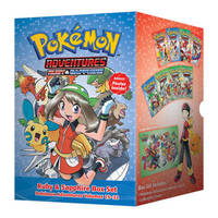 Pokemon Adventures Ruby & Sapphire Box Set: Volumes 15-22 by Hidenori Kusaka
