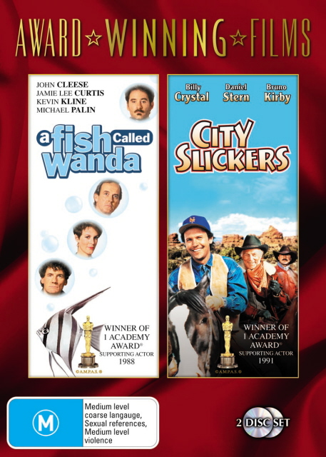 Fish Called Wanda, A / City Slickers (Award Winning Films) (2 Disc Set) on DVD image