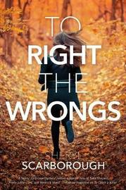 To Right the Wrongs by Sheryl Scarborough image