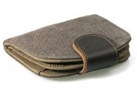 Troop London: Denver Canvas Wallet - Black