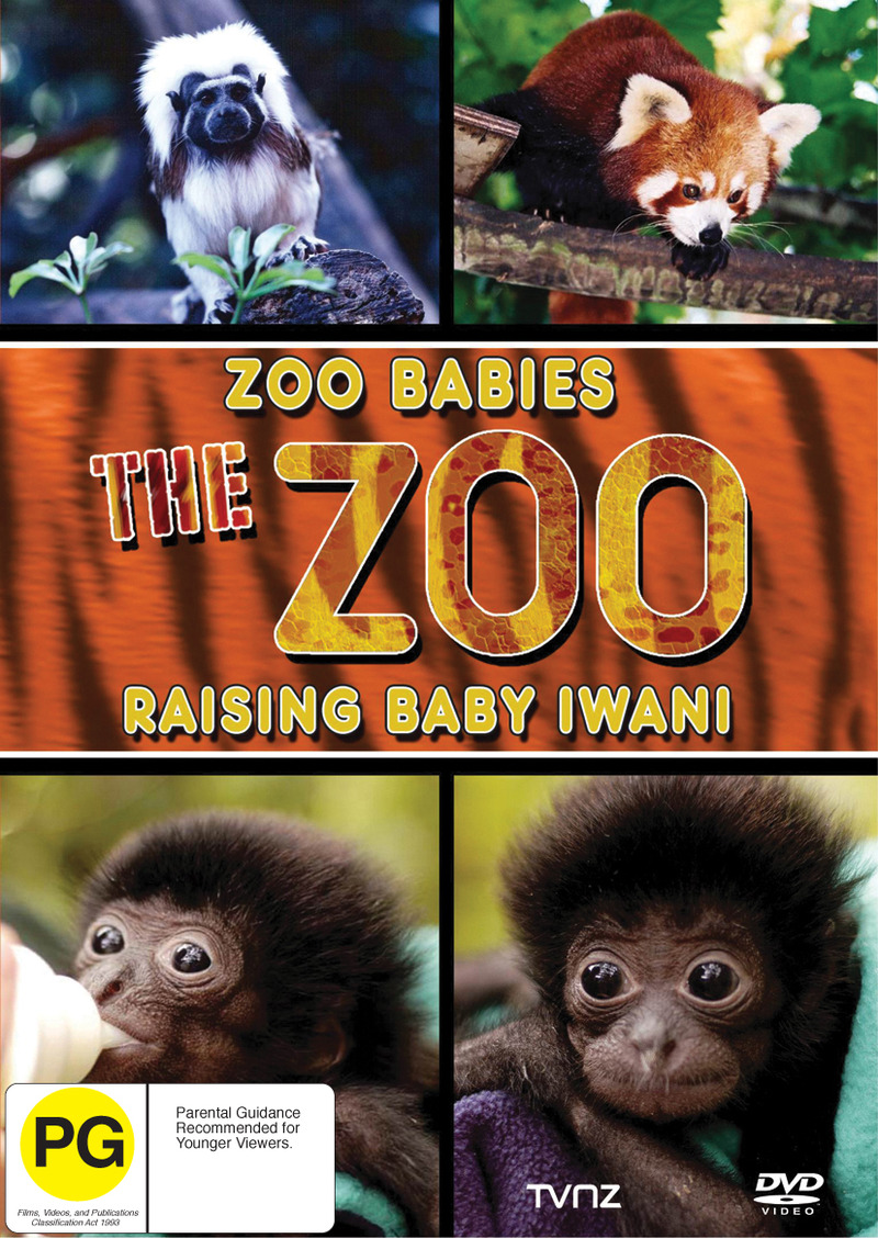 Zoo Babies - Raising Baby Iwani on DVD image