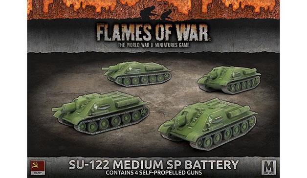 Flames of War: SU-122 Medium SP Battery