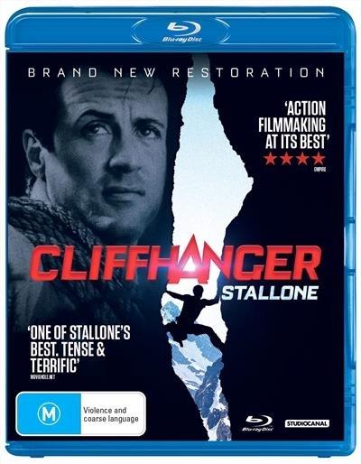 Cliffhanger on Blu-ray