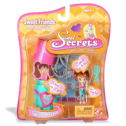 Sweet Secrets Fashion Doll and Lipstick Case: Taylor image