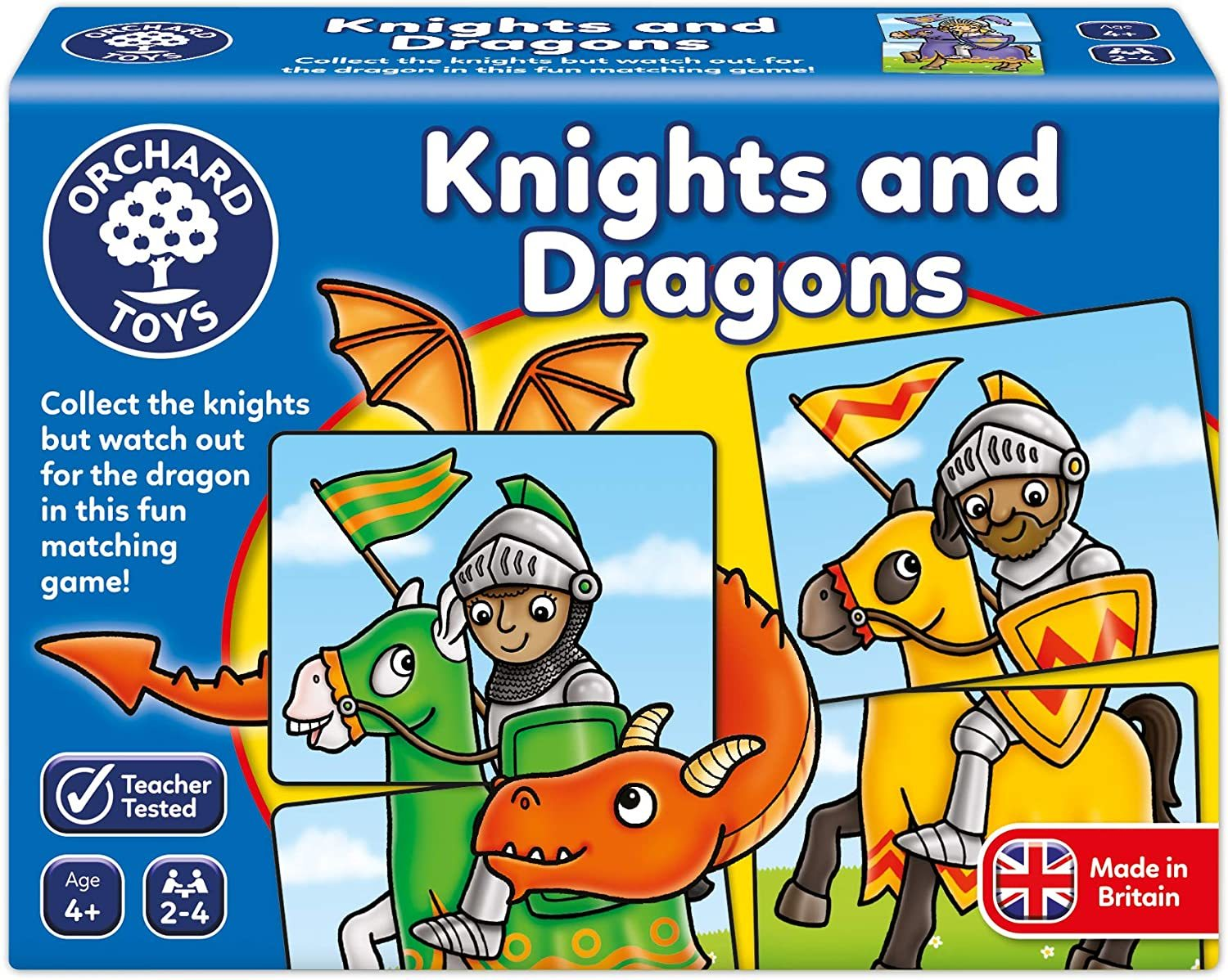 Orchard: Knights & Dragons - Board Game image