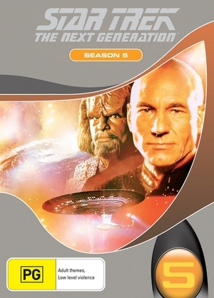 Star Trek: The Next Generation - Season 5 on DVD