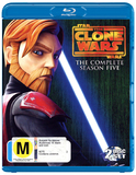 Star Wars: The Clone Wars - The Complete Fifth Season on Blu-ray
