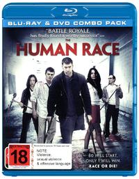 The Human Race on DVD, Blu-ray