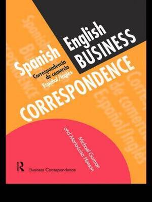 Spanish/English Business Correspondence by Michael Gorman image