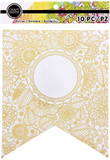 Craft Smith Banners - Gilded Bloom (10 Pk)