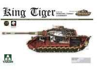 Takom 1/35 King Tiger Sd.Kfz.182 Henschel Turret Model Kit