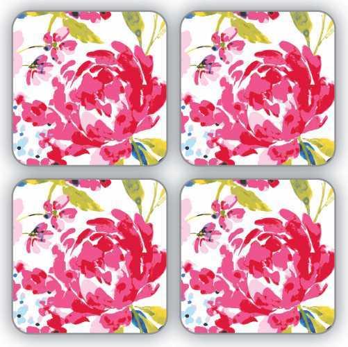 Cooksmart Table Coasters - Floral Romance