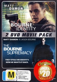 Bourne Identity / Bourne Supremacy on DVD image